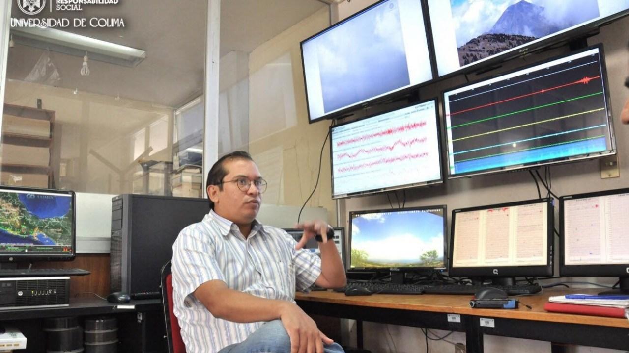 Renovarán estaciones sísmicas monitoreo volcán Fuego Colima