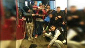Reclusos liberan rehenes tras motín en cárcel en Montevideo