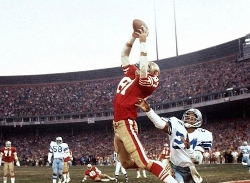 Falleció Dwight Clark, leyenda de los San Francisco 49ers