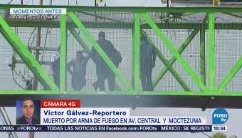 Asaltantes Matan Policía Perseguía Puente Ecatepec