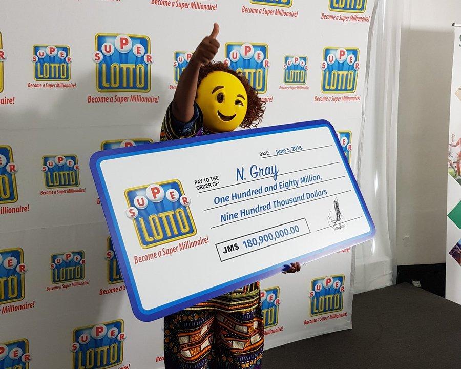 Ganó Lotería, Disfraz, Emoji, Premio, Jamaica, Super Lotto