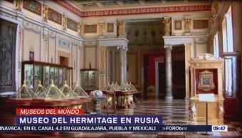 Museo del Hermitage se compone de adquisiciones de los zares de Rusia