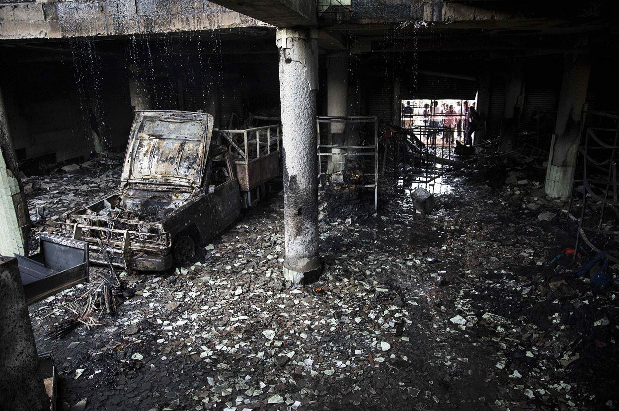 Seis fallecidos tras incendio provocado en Nicaragua