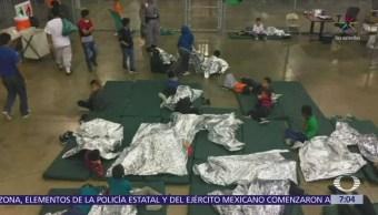 Niños migrantes separados de sus padres fueron trasladados a NY