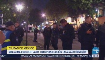 Libera Víctima Secuestro Colonia La Cascada, Álvaro Obregón