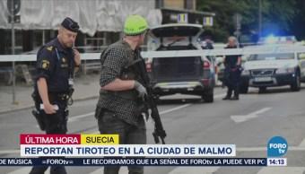 Reportan Tiroteo Ciudad Malmo, Suecia