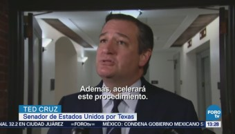 Ted Cruz Presentará Iniciativa Evitar Separación Familias Migrantes