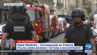 Policía Francesa Libera Rehenes Detiene Secuestrador