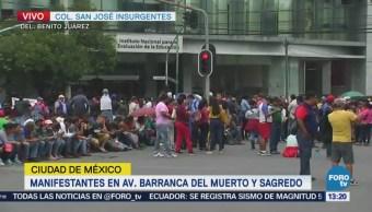 Manifestantes Cierran Avenida Barranca Muerto Cdmx
