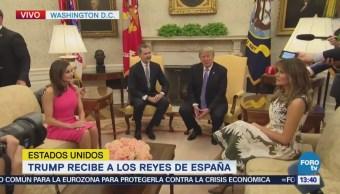 Trump Recibe Reyes España