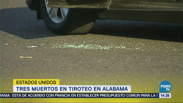 Tiroteo Alabama Deja Tres Muertos