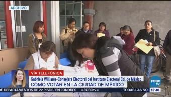 Iecm Explica Proceso Para Votar Cdmx