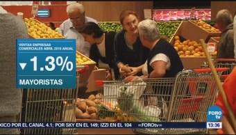Ingresos Empresas Comerciales Bajan 0.2% Inegi