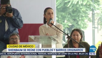 Sheinbaum Dice Creará Secretaría Barrios Pueblos Originarios