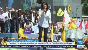 Barrales Promete Servir Capitalinos