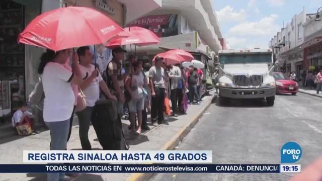 Onda Calor Azota País Sinaloa Temperatura