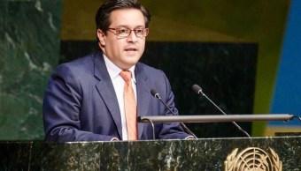 México anuncia apoyo de 500 mil dólares a refugiados