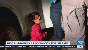 Padre reconoce a su hija, niña migrante que llora en foto viral