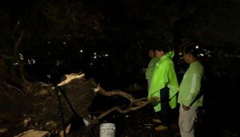 lluvia afectaciones encharcamientos chiapas regiones metropolitana