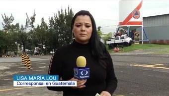 Permanece la alerta roja en Guatemala por Volcán de Fuego
