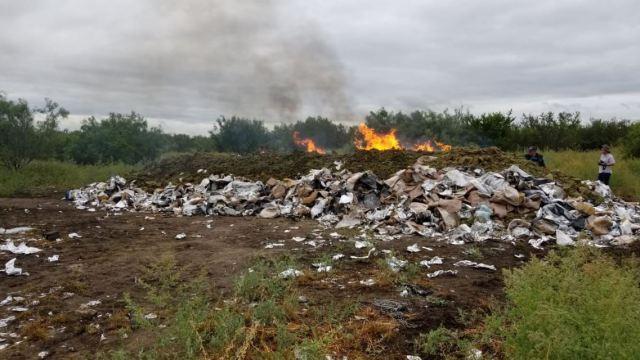 pgr incinera toneladas narcoticos tamaulipas ciudad