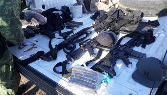 detienen dos hombres arsenal y combustible robado guamuchil sinaloa