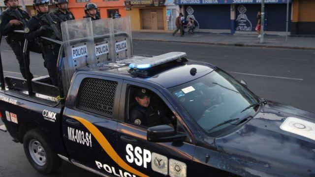 Detienen a siete personas durante operativo de seguridad