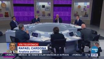 Predominan acusaciones en el tercer debate presidencial
