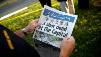Presentan cargos contra autor del tiroteo en Capital Gazette