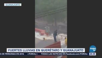 Desbordan Presa De La Olla Guanajuato Inundaciones
