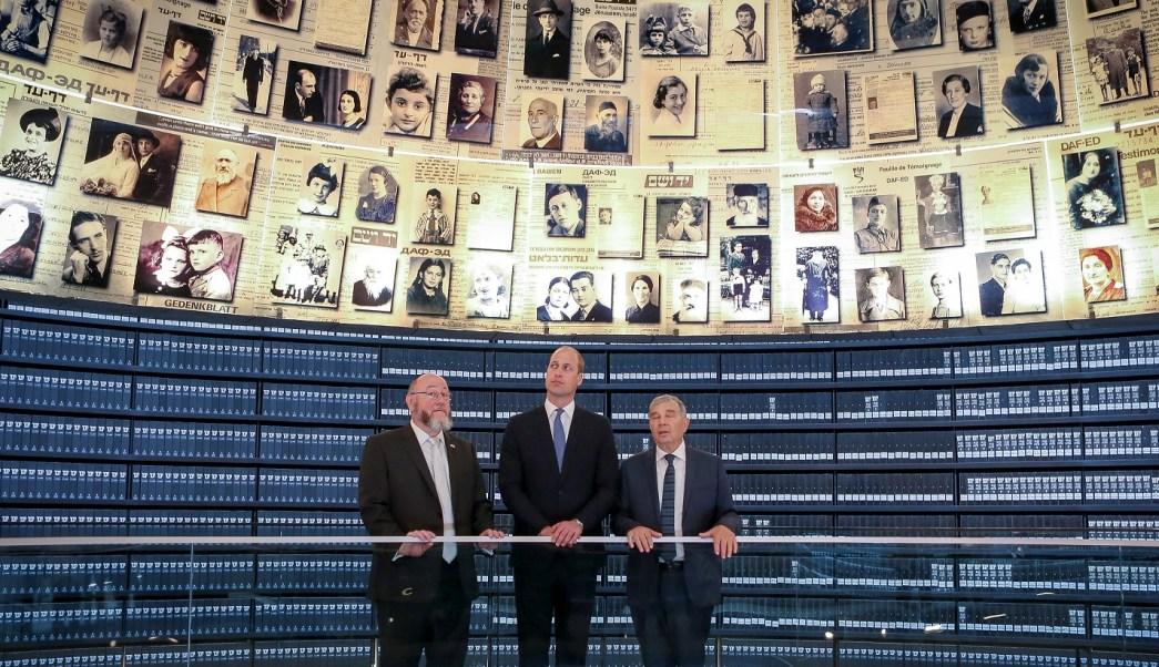 Conmociona príncipe Guillermo Museo Holocausto visita Israel