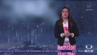 Pronostican tormentas y granizo en el oriente, centro y sur de México