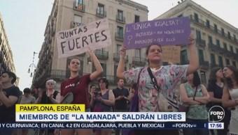 Protestan en España por la liberación de