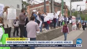 Protestan por proyecto inmobiliario en Lomas