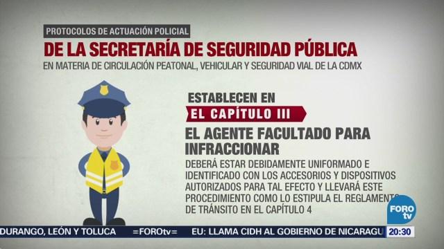 Protocolos Policiacos Cdmx Revisión Preventiva Proceso