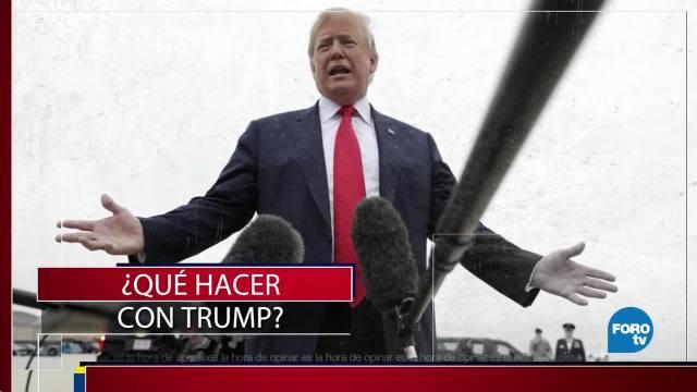 Hacer México Estados Unidos Donald Trump
