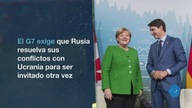 Razones Cumbre Del G7 Rechazar Rusia Putin