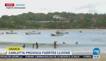 Reabren Puertos Oaxaca Luego Paso Tormenta Carlotta