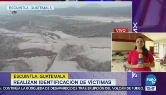 Realizan identificación de víctimas del desastre