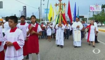 Realizan Misa Víctimas Accidente Tráiler Tuxtla Gutiérrez