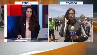 Realizan Protesta Tras Accidente Tráiler Autobús Texcoco