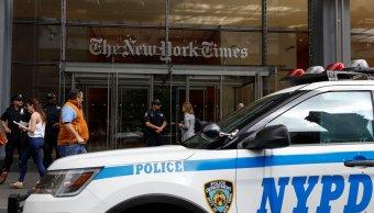 Refuerzan seguridad medios comunicación Nueva York