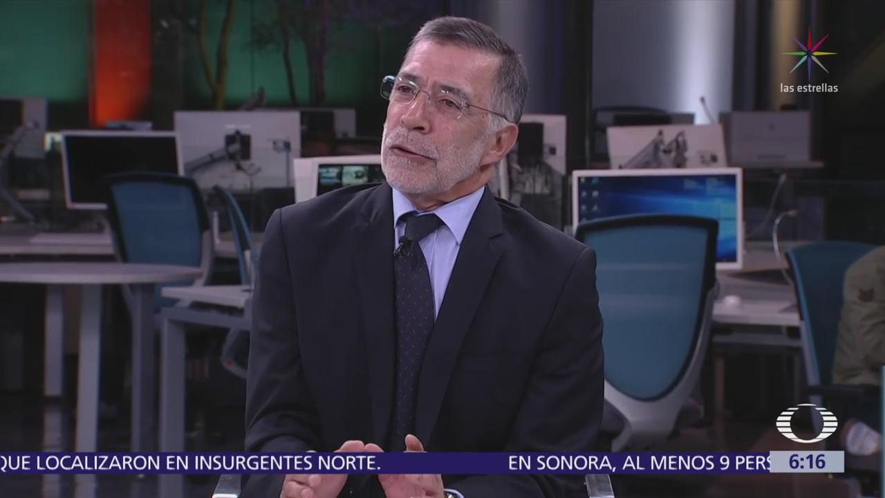 René Delgado: Respuesta de México a 'cero tolerancia' fue tardía