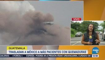 Reportan saqueos en zonas evacuada por Volcán de Fuego