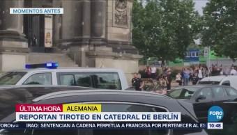 Reportan Tiroteo Catedral Berlín
