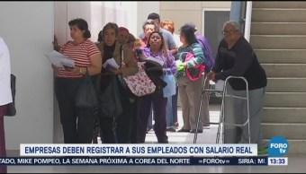 Reporte de salarios reales para mejores pensiones: IMSS