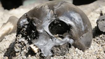 Masacre Restos Germánicos Imperio Romano Huesos
