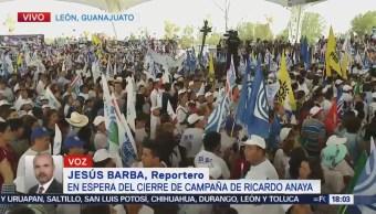 Ricardo Anaya Cierra Campaña León Guanajuato