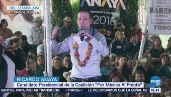 Ricardo Anaya Habla Corrupción