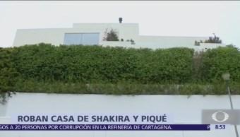 Roban casa de Shakira y Gerard Piqué en Barcelona
